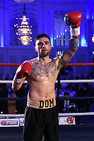 Domenic Specchio defeats Danny Little during a Boxing Show at The Devere Grand Connaught Rooms on 9th May 2019