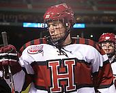 Peter Starrett (Harvard - 14) - The Union College Dutchmen defeated the Harvard University Crimson 2-0 on Friday, January 13, 2011, at Fenway Park in Boston, Massachusetts.