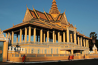 The Royal Palace of Cambodia is a complex of buildings which are the royal residence of the King of Cambodia.  Cambodian royalty have occupied it since it was built in 1866 with a period of absence when the country came into turmoil during and after the reign of the Khmer Rouge.