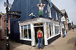 Golden Galleon chip shop and restaurant, Aldeburgh, Suffolk, England