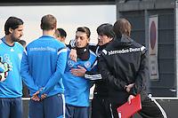 23.03.2015: Nationalmannschaft trainiert in Frankfurt