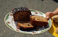 Großbritannien, Wales, Welsh Cake und Bara Brith