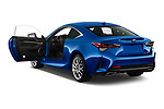 Car images close up view of a 2019 Lexus RC 350 2 Door Coupe doors