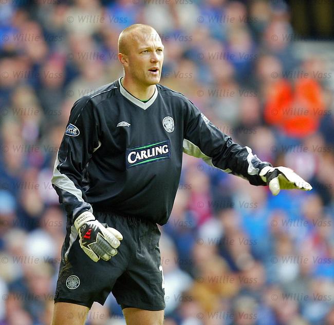 Magnus Hedman, Celtic.Stock season 2003-2004.pic willie vass