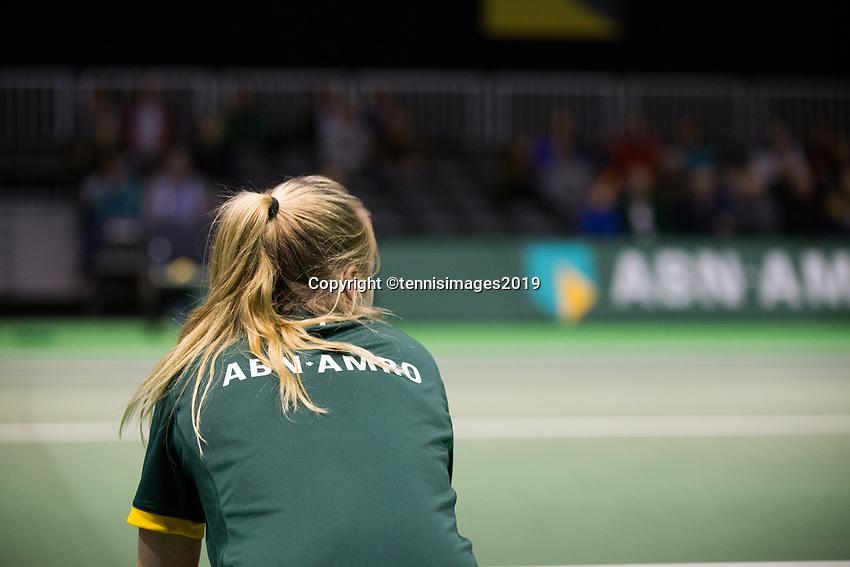Rotterdam, Netherlands, 9 februari, 2019, Ahoy, Tennis, ABNAMROWTT, BALLKID<br /> Photo: Henk Koster/tennisimages.com