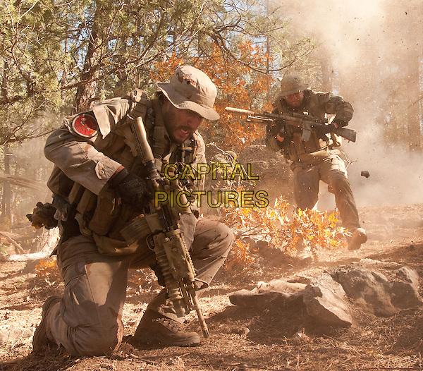 Taylor Kitsch, Mark Wahlberg<br /> in Lone Survivor (2013) <br /> (Du Sang et des Larmes)<br /> *Filmstill - Editorial Use Only*<br /> CAP/NFS<br /> Image supplied by Capital Pictures
