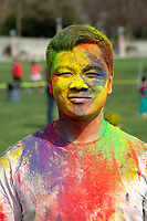 Simon Chiu, Holi Festival of Colors, Downtown Park, Bellevue, WA, USA.