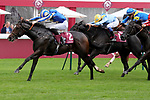 October 05, 2019, Paris (France) - Into Faith (2) with Pierre-Charles Boudot up wins the Prix Haras de Bouquetot (Class 2) on October 5 at ParisLongchamp Race Course. [Copyright (c) Sandra Scherning/Eclipse Sportswire)]