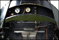 BNPS.co.uk (01202 558833)<br /> Pic:  BraybrookCollection/BNPS<br /> <br /> 'Britannia'.<br /> <br /> A late aristocrat's prized collection of model trains has sold for £244,000.<br /> <br /> Lord Braybrooke set up a miniature garden railway 55 years ago in the grounds of his stately home at Audley End House in Saffron Walden, Essex.<br /> <br /> He died in 2017 and his family parted with nine of his locomotives to raise funds to improve the railway's facilities so it can keep running for future generations.
