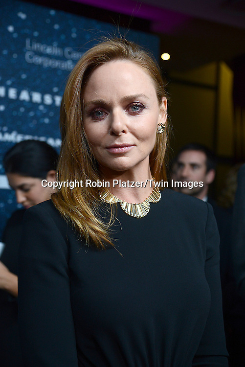 Stella McCartney attend the Stella McCartney Honored by Lincoln Center at Gala on November 13, 2014 at Alice Tully Hall in New York City, USA. She was given the Women's Leadership Award which was presented bythe LIncoln Center for the Performing Arts' Corporate Fund.<br /> <br /> photo by Robin Platzer/Twin Images<br />  <br /> phone number 212-935-0770