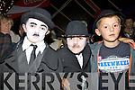 Enjoying the Chaplin Festival in Waterville at the Weekend were l-r; Jack O'Shea, Reece Nolan & Cillian O'Shea.