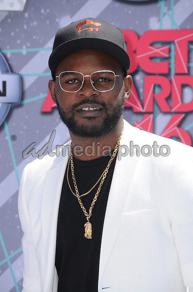26 June 2016 - Los Angeles. Falz. Arrivals for the 2016 BET Awards held at the Microsoft Theater. Photo Credit: Birdie Thompson/AdMedia