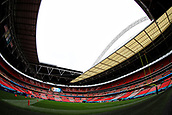 1st October 2017, Wembley Stadium, London, England; NFL International Series, Game Two; Miami Dolphins versus New Orleans Saints; General view of Wembley Stadium hosting the NFL
