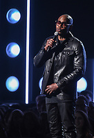 NEW YORK - JANUARY 28: Comedian Dave Chappelle appears on the 60th Annual Grammy Awards at Madison Square Garden on January 28, 2018 in New York City. (Photo by Frank Micelotta/PictureGroup)