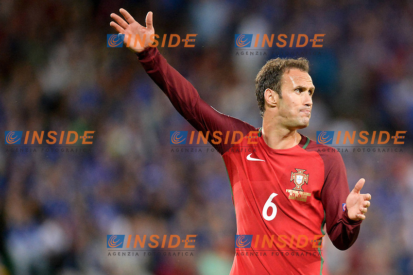 RICARDO CARVALHO Portugal <br /> Saint-Etienne 14-06-2016 Stadium Geoffroy-Guichard Football Euro2016 Portugal-Iceland / Portogallo-Islanda Group Stage Group F<br /> Foto Anthony Bibard / Panoramic / Insidefoto