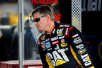 Nov. 13, 2009; Avondale, AZ, USA; NASCAR Sprint Cup Series driver Jeff Burton during practice for the Checker O'Reilly Auto Parts 500 at Phoenix International Raceway. Mandatory Credit: Mark J. Rebilas-