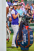 Sei Young Kim (KOR) looks over her tee shot on 1 during Saturday's third round of the 72nd U.S. Women's Open Championship, at Trump National Golf Club, Bedminster, New Jersey. 7/15/2017.<br /> Picture: Golffile | Ken Murray<br /> <br /> <br /> All photo usage must carry mandatory copyright credit (&copy; Golffile | Ken Murray)