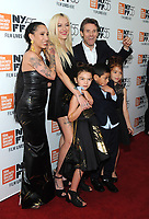 NEW YORK, NY - OCTOBER 01: Mela Murder, Sean Baker, Bria Vinaite, Brooklynn Prince, Christopher Rivera, Willem Dafoe and Valeria Cotto attend The 55th New York Film Festival - 'The Florida Project' at Alice Tully Hall on October 1, 2017 in New York City. <br /> CAP/MPI/PAL<br /> &copy;PAL/MPI/Capital Pictures