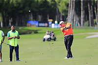 Thorbjorn Olesen (DEN) team during Wednesday's Pro-Am of the 2018 Turkish Airlines Open hosted by Regnum Carya Golf &amp; Spa Resort, Antalya, Turkey. 31st October 2018.<br /> Picture: Eoin Clarke | Golffile<br /> <br /> <br /> All photos usage must carry mandatory copyright credit (&copy; Golffile | Eoin Clarke)