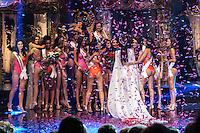 BELO HORIZONTE, MG, 28.09.2013 - MISS BRASIL - Jakelyne Oliveira, do Mato Grosso, &eacute; eleita <br /> a Miss Brasil 2013 durante o concurso de beleza Miss Brasil 2013, realizado no Minascentro, em Belo Horizonte, na noite deste s&aacute;bado (28). (Foto: Marcos Fialho / Brazil Photo Press).