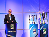 London, England. ERC Chief Executive Derek McGath during the UK Heineken Cup and Amlin Challenge Cup season launch at SKY Studios on October 1, 2012 in London, England.