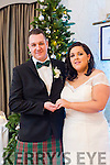 Sharon Hogan, Tralee, and Martyn Hicks, Wales, were married in a Civil Service by Helen Grubert on Saturday 31st December 2016 with a Reception after