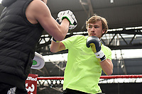 Jake Pettitt during a Public Workout at Old Spitalfields Market on 9th July 2019