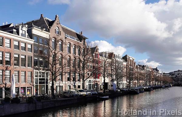 Nederland - Amsterdam -  Februari 2019.  De Keizersgracht.  Foto Berlinda van Dam / Hollandse Hoogte