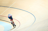 Picture by Alex Whitehead/SWpix.com - 23/03/2018 - Cycling - 2018 UCI Para-Cycling Track World Championships - Rio de Janeiro Municipal Velodrome, Barra da Tijuca, Brazil - Louis Rolfe of Great Britain competes in the Men's C2 1km Time Trial final.