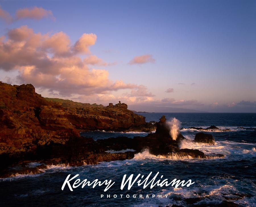 Mokolea Blowhole, Maui, Hawaii, USA.