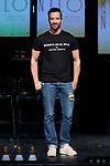 Pablo Puyol attends to 'Muerte en el Nilo' theatre play presentation at Ayala Theatre in Madrid, Spain. September 13, 2018. (ALTERPHOTOS/A. Perez Meca)