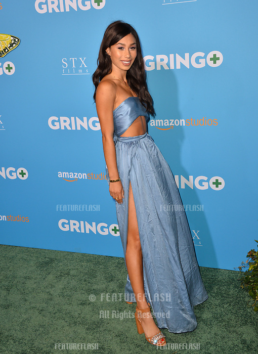 Eva Gutowski at the world premiere for &quot;Gringo&quot; at the L.A. Live Regal Cinemas, Los Angeles, USA 06 March 2018<br /> Picture: Paul Smith/Featureflash/SilverHub 0208 004 5359 sales@silverhubmedia.com