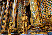 Mondop Library at Wat Phra Kaew next to the Grand Palace Bangkok Thailand