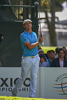 Bryson DeChambeau (USA) watches his tee shot on 7 during round 1 of the World Golf Championships, Mexico, Club De Golf Chapultepec, Mexico City, Mexico. 2/21/2019.<br /> Picture: Golffile | Ken Murray<br /> <br /> <br /> All photo usage must carry mandatory copyright credit (© Golffile | Ken Murray)