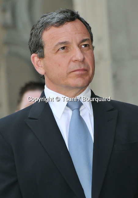 Michael Eisner Honored with a Star on the Hollywood walk Of Fame In Los Angeles.<br /> speaker bob Iger president and CEO