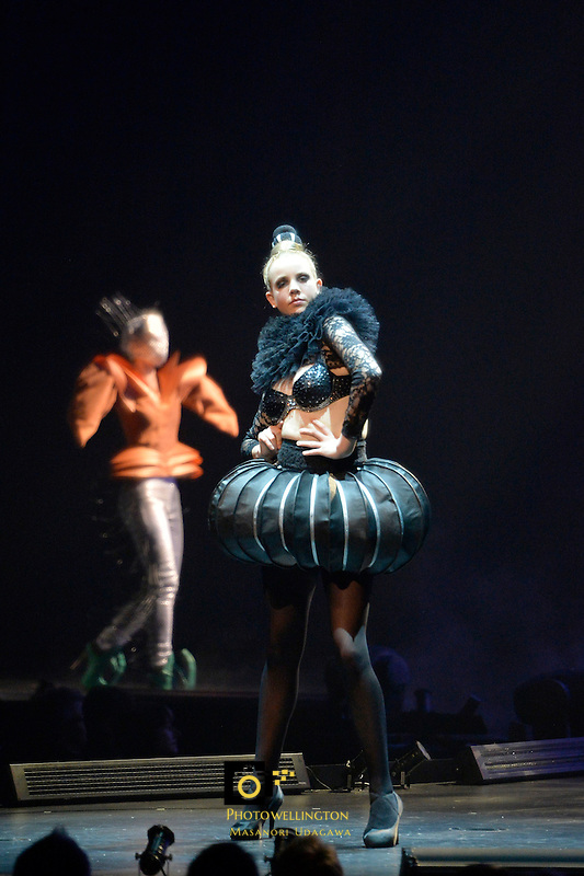 World Of Wearable Art 2013 at TSB Arena, Wellington, New Zealand on Saturday 5 October 2013.<br /> Photo by Masanori Udagawa.<br /> www.photowellington.photoshelter.com
