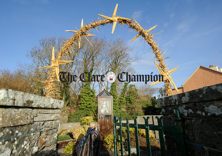 The scene is set for the annual celebration at St Bridget's Well, Liscannor. Photograph by John Kelly.