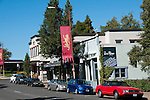 Downtown Ashland Oregon.Photo copyright Lee Foster.  Photo # oregon-ashland-oregon105641