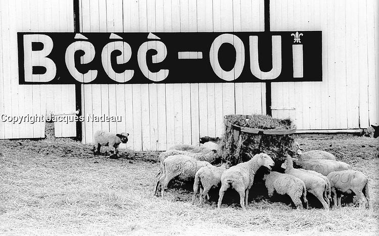 Referendum 1980<br /> jacques nadeau