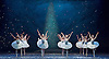 Nutcracker<br /> English National Ballet <br /> at The London Coliseum, London, Great Britain <br /> rehearsal <br /> 13th December 2016 <br /> Choreography by Wayne Eagling <br /> <br /> snowflakes<br /> <br /> <br /> Photograph by Elliott Franks <br /> Image licensed to Elliott Franks Photography Services