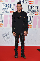 Lewis Hamilton arrives for the BRIT Awards 2015 at the O2 Arena, London. 25/02/2015 Picture by: Steve Vas / Featureflash