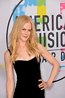 Nicole Kidman at the 2017 American Music Awards at the Microsoft Theatre LA Live, Los Angeles, USA 19 Nov. 2017<br /> Picture: Paul Smith/Featureflash/SilverHub 0208 004 5359 sales@silverhubmedia.com