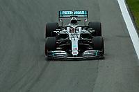 15th November 2019; Autodromo Jose Carlos Pace, Sao Paulo, Brazil; Formula One Brazil Grand Prix, Practice Day; Lewis Hamilton (GBR) Mercedes AMG F1 W10 - Editorial Use