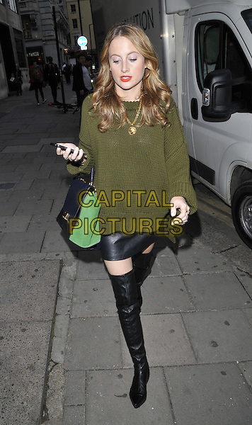 LONDON, ENGLAND - OCTOBER 01: Rosie Fortescue attends the Cherry Edit new fashion website launch party, Cafe KaiZen, Hanover Square, on Wednesday October 01, 2014 in London, England, UK. <br /> CAP/CAN<br /> &copy;Can Nguyen/Capital Pictures
