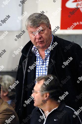 Voorzitter Eric Somme van Spirou Charleroi