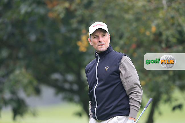 David Higgins (Waterville GC) during the second round of the Irish PGA Championship, Dundalk Golf Club, Dundalk Co Louth. 02/10/2015<br /> Picture Golffile | Fran Caffrey | PGA<br /> <br /> <br /> All photo usage must carry mandatory copyright credit (&copy; Golffile | Fran Caffrey | PGA)