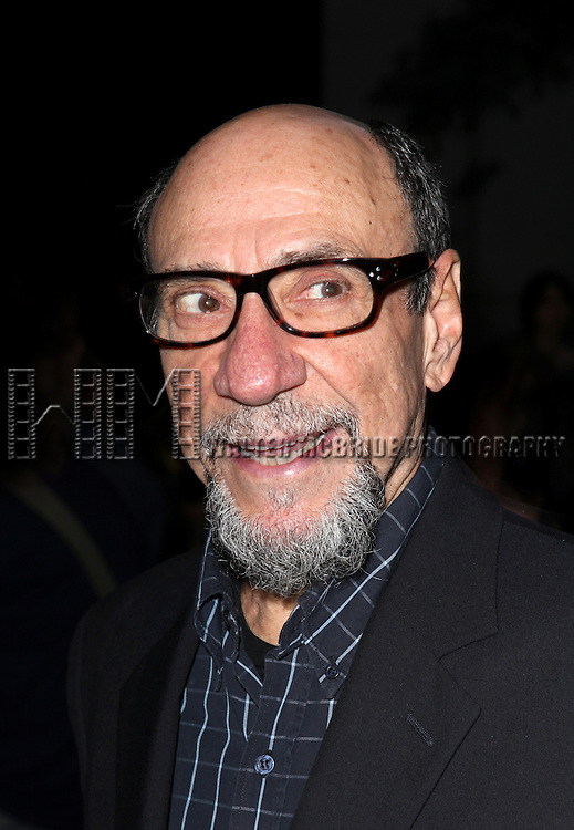 F. Murray Abraham attending the Opening Night Performance of the Roundabout Theatre Production of  'If There Is I Haven't Found It Yet' at the Laura Pels Theatre in New York City on 9/20/2012.