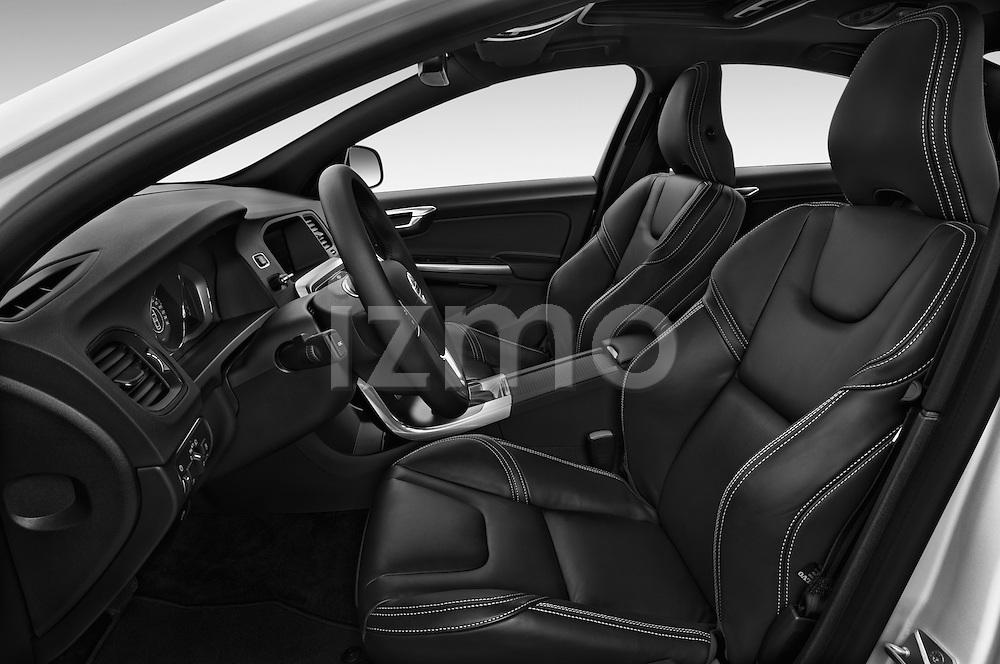 Front seat view of 2016 Volvo S60 R-Design 4 Door Sedan Front Seat  car photos