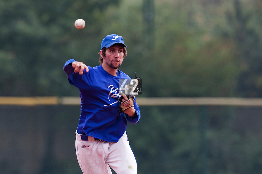 23 September 2009: Pole Baseball Rouen, Thomas Gicquel