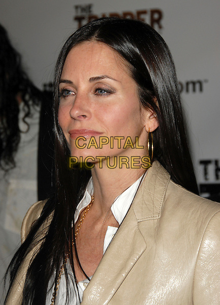 COURTENEY COX ARQUETTE.Attends The Tripper Premiere held at The Hollywood Forever Cemetary in Hollywood, California, USA..April 11th, 2007.headshot portrait Courtney.CAP/DVS.©Debbie VanStory/Capital Pictures